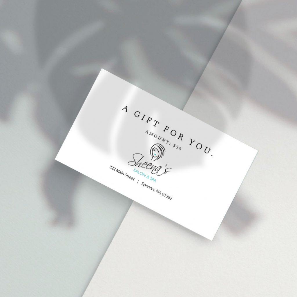 Salon Gift Cards